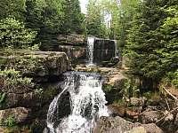 vodopády Jedlový důl - Albrechtice v Jizerských horách