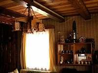 interier - obývací pokoj - Albrechtice v Jizerských horách