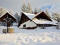 Chata - zima