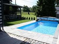 bazén se slanou vodou - ubytování Hrabětice
