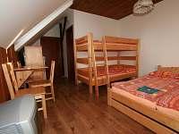 čtyřlůžkový pokoj 2 - Hrabětice