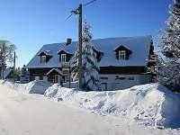 Penzion na horách - zimní dovolená Hrabětice