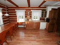společná kuchyň - ubytování Hrabětice