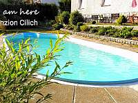 bazén 9 x 3 m. - ubytování Kořenov - Příchovice