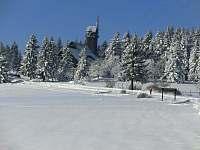 rozhledna a chata Královka - 4 km - Janov nad Nisou
