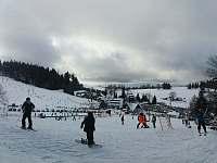 Ski areál Severák - sjezdovky u Arniky - Janov nad Nisou