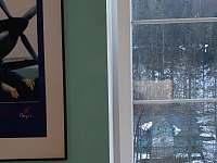 Vyhled z okna - apartmán k pronajmutí Buřany