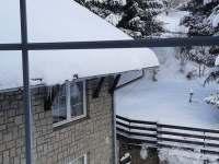 Vyhled z okna - apartmán k pronájmu Buřany