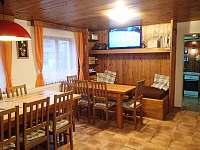 Společenská místnost 1 - chata k pronajmutí Albrechtice