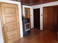 Společenská místnost - chata ubytování Albrechtice