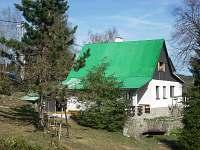 Zahrada - chata k pronajmutí Albrechtice