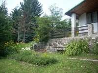 Zahrada - pronájem chaty Albrechtice