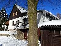Zima - chata ubytování Albrechtice