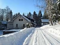 Chata Barbora v zimě