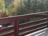 Výhled do údolí a překrásná zeleň - Liberec - Starý Harcov