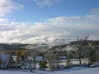 Výhled na Jizerské hory