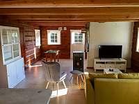 obývák - chalupa ubytování Desná