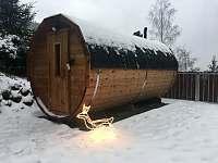 sauna - chalupa k pronájmu Desná