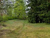 Rozlehlá zahrada Chalupa U Saxany - k pronajmutí Lučany nad Nisou