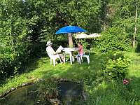 zahrada - ubytování Smržovka