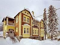 zima na Jelence - ubytování Smržovka