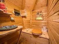 ekologické WC uvnitř objektu - Křižany