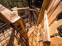 Treehouse Emanuel - chata k pronájmu Křižany