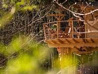 Treehouse Emanuel - chata k pronajmutí Křižany