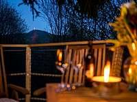 Treehouse Emanuel výhled na Ještěd - chata ubytování Křižany