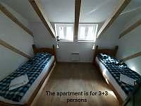 Apartmány pod Mariánskými schody ,,Apartmán č.5´´ - k pronájmu Desná
