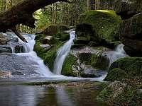 Jedlové vodopády - Janov nad Nisou - Hrabětice