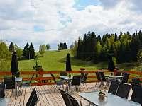 venkovní terasa - Janov nad Nisou - Hrabětice