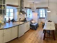 Kuchyně s linkou - apartmán k pronajmutí Tanvald