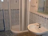 Modrý apartmán - koupelna - pronájem chaty Hrabětice
