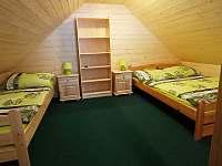 nová ložnice v zeleném apartmánu - Hrabětice