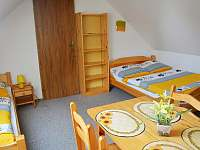 žlutý apartmán - chata k pronajmutí Hrabětice
