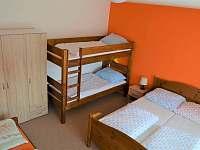Ložnice - apartmán ubytování Albrechtice v Jizerských horách