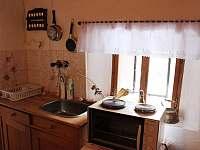 kuchyňka - pronájem chalupy Tanvald - Český Šumburk