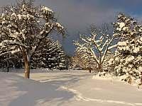 naše zahrada - chalupa ubytování Tanvald - Český Šumburk