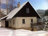 Hlavní vchod - chalupa ubytování Albrechtice v Jizerských horách