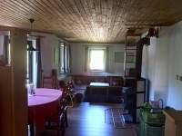 Obývací místnost - chalupa k pronájmu Albrechtice v Jizerských horách