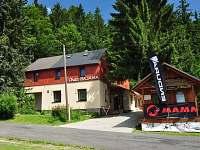 Chata Bajama v létě - ubytování Bedřichov