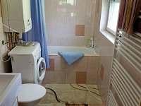 koupelna + WC - pronájem chalupy Dolní Maxov - Josefův Důl,