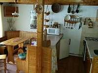 Kuchyně - chalupa k pronajmutí Dolní Maxov - Josefův Důl,