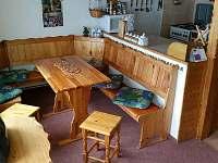 Kuchyňský kout - chalupa ubytování Dolní Maxov - Josefův Důl,