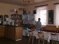 Společenská místnost s barem a pípou - chata ubytování Bratříkov