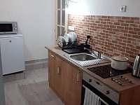 kuchyň apartmánu - Kořenov - Rejdice