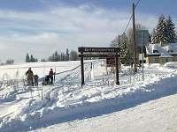 Běžecká trasa z Hrabětic