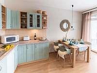 jídelní kout - apartmán k pronajmutí Liberec