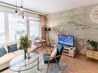 obývací pokoj - apartmán ubytování Liberec